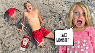 LAKE MONSTER Prank!