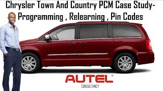 Autel Maxisys Elite | Chrysler Town and Country PCM Programming and Pin Code | Case Study 2019