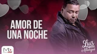 Amor De Una Noche   Luis Miguel Del Amargue   Audio Oficial