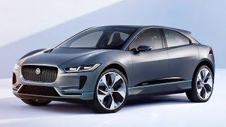 Смотреть онлайн Обзор электрокроссовера Jaguar I-Pace