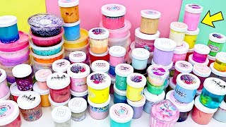 SLIME COLLECTION Declutter! BIGGEST Slime Collection