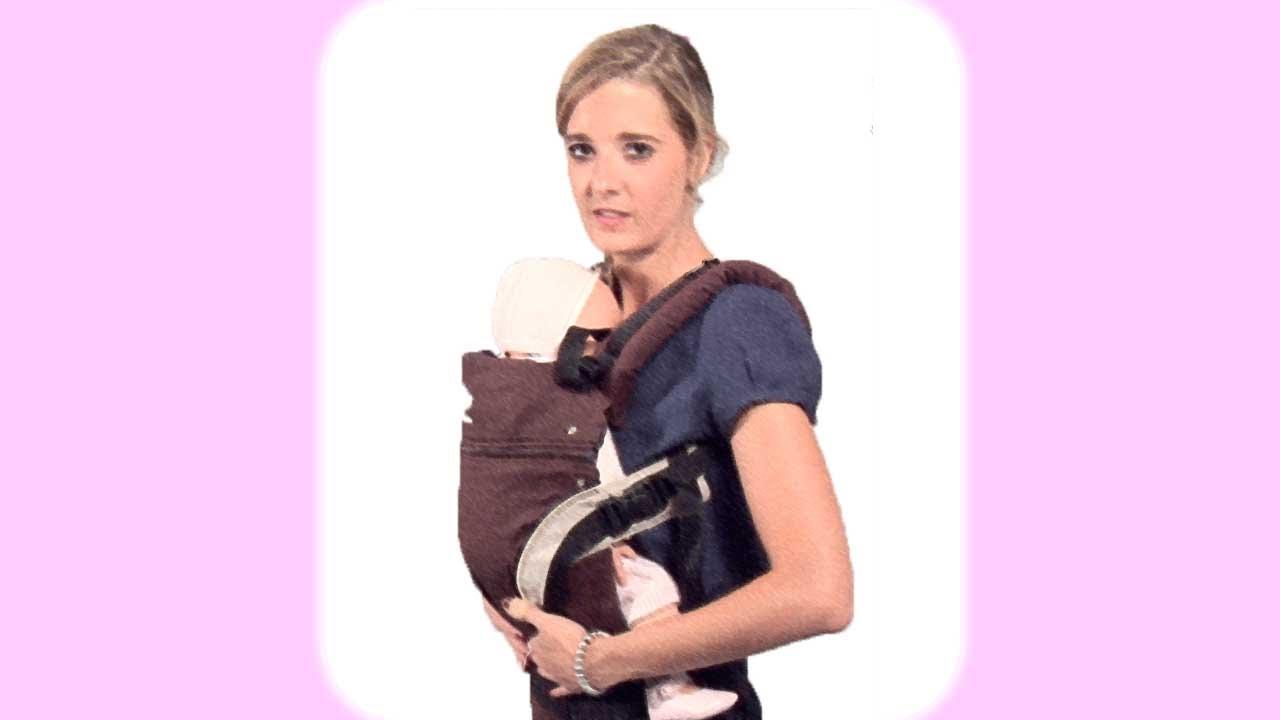 Cómo llevar al bebé en una mochila portabebés