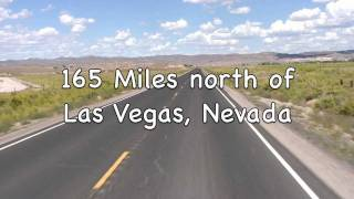 Road Tour Nevada-Hwy 93 between Panaca