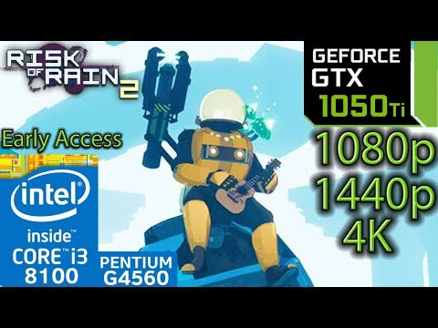 Alan Wake - GTX 1050 2gb - i3 8100 - G4560 - 1080p - 1440p