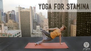 Yoga Stamina Routine: Persevere & Grow (open level)