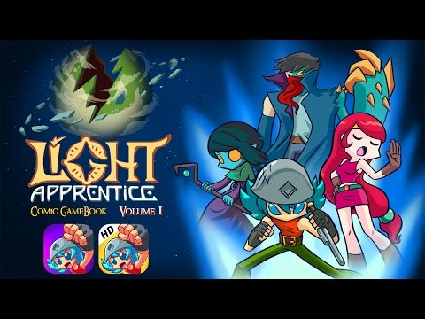 Light Apprentice Comic GameBook - Story Trailer 2017 thumbnail