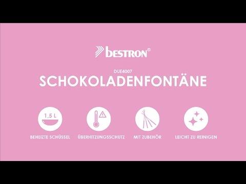 Bestron DUE4007 Schokoladenfontäne   DE