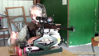 La carabine CZ 557 cal 30.06 Springfield