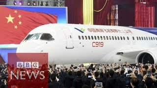 China unveils passenger jet C919 - BBC News