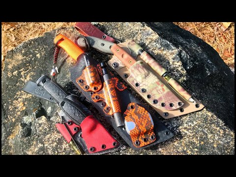 Black Bear Custom Kydex: Knife Sheaths, Systems - Mora, TOPS, ESEE, And More Mp3