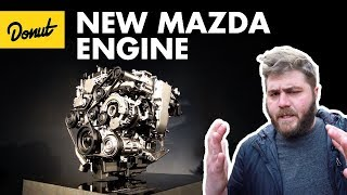 Mazda's Secret New Engine Technology - SkyactivX | The New Car Show