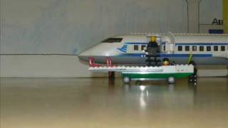 preview picture of video 'Lego Flugzeugstart'