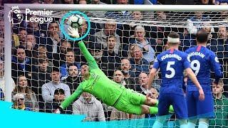 SPECTACULAR GOALKEEPER SAVES | De Gea Alisson Ederson | Premier League Compilation