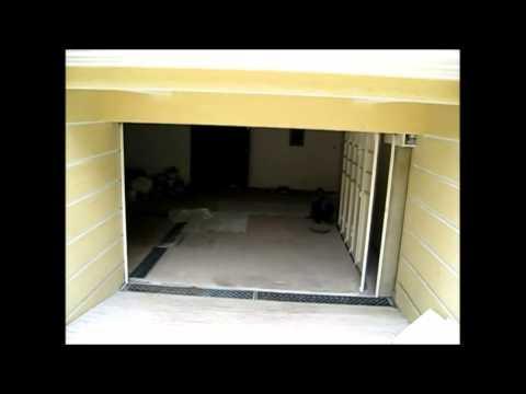 Motorised Multipanel Garage Doors