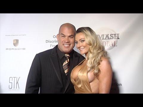 "Tito Ortiz & Amber Nichole Miller ""SMASH Global IV"" Red Carpet"