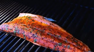 Grilled Sockeye Salmon   Christine Cushing