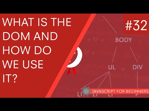 JavaScript Tutorial For Beginners #32 – What is the DOM in JavaScript?