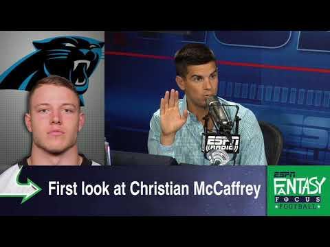 Where Is Christian McCaffrey's Fantasy Stock After 1 Preseason Game? | Fantasy Focus | ESPN