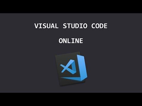 #VSCode - Visual Studio Code Online 🌐