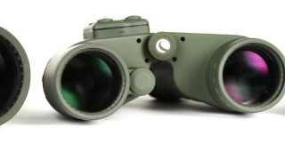 Celestron 7 x 50 Cavalry Waterproof Binoculars with GPS, Digital Compass & Reticle - 71422