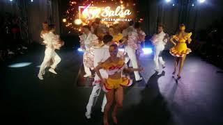 Salsa International 2018 Rueda de Casino Show champions - City Dance Team