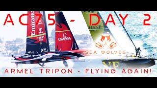 Sea Wolves - America's cup Christmas series DAY 2 update   Vendee Globe 2020 Tripon is flying again!