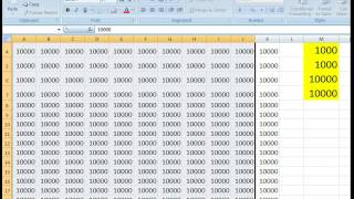 How to Add The  Thousand Comma Separators In Numbers on Excel Cell Worksheet