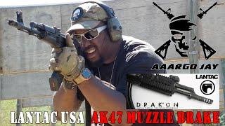 Lantac AK47 Muzzle Brake LANTAC DRAKON  (HD 1080p)