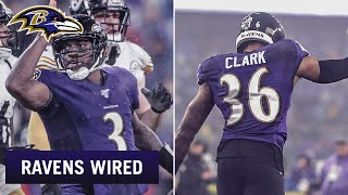 RGIII, Chuck Clark Mic'd Up vs. Steelers | Ravens Wired