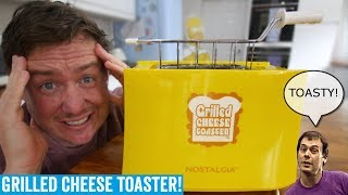 Um, so I tried a grilled cheese toaster. | Kitchen Gadget Test