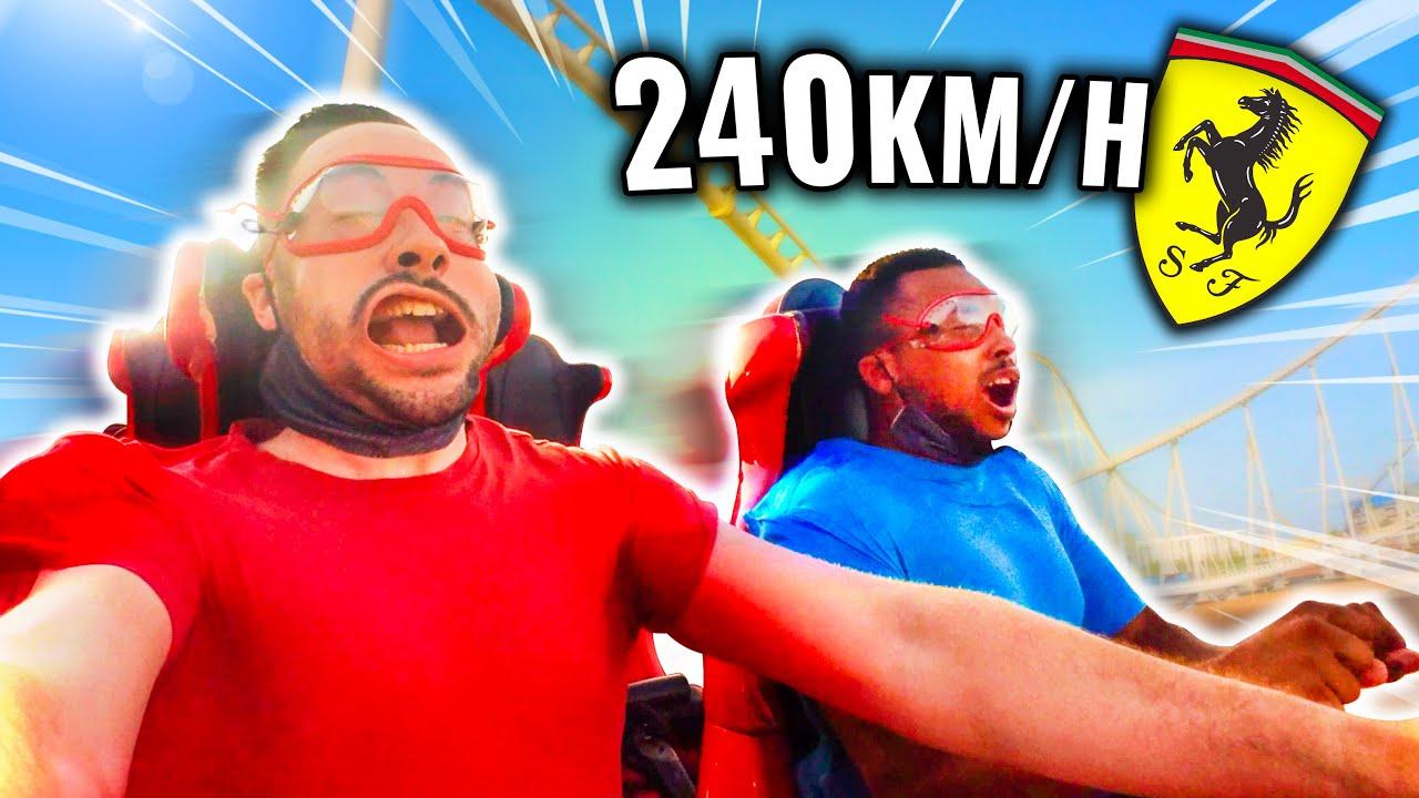 Je teste l'attraction la plus Rapide du Monde ! (240km/h en 4,9sec - 20 800ch)