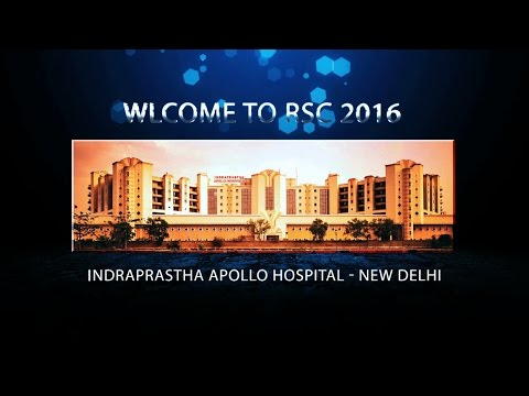 Welcome to the 2016 Robotic Surgeons Council of India Meeting