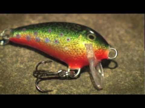 Rapala Mini Fat Rap 3 (MFR-3) videó