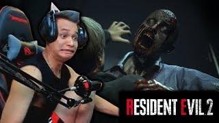 Giật thót tim khi Độ Tày chơi thử bản Demo của Resident Evil 2.