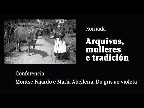 Montse Fajardo e María Abelleira, Do gris ao violeta