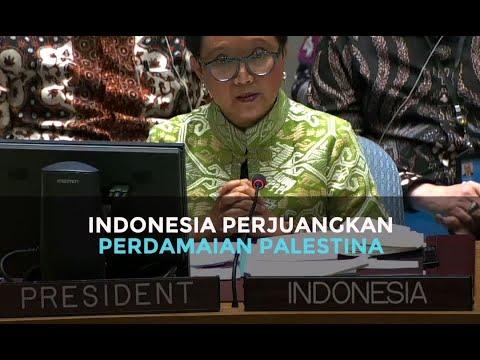 Indonesia Perjuangkan Perdamaian Palestina