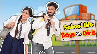 School Life Boys Vs Girls | BakLol Video - Download this Video in MP3, M4A, WEBM, MP4, 3GP