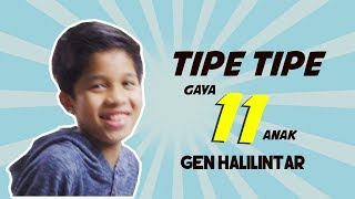 Tipe - Tipe 11 Gaya Gen Halilintar By Fateh Halilintar | Special Ramadhan