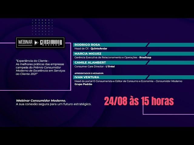 Webinar CM com QuintoAndar, Brasilcap e L'Oréal – As melhores práticas das empresas campeãs do Prêmio CM 2021