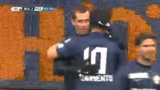 Гол за Цюрих  Александра Кержакова. Aleksandr Kerzhakov Goal , Grasshoppers Vs FC Zurich