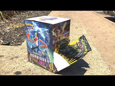 BOUGHT THE ENTIRE BOX! - Opening Forbidden Light Pokemon Cards From Dollar Tree Haul!