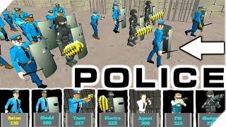 ПОЛИЦИЯ против ПРЕСТУПНИКОВ - Батл Симулятор Тюрьма & Полиция. Игры на телефон