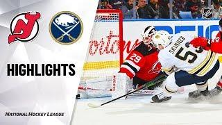 NHL Highlights | Devils @ Sabres 12/02/19