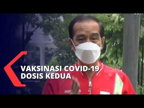 Presiden Jokowi Sebut Masyarakat Umum Terima Vaksin  Mulai Bulan Februari 2021