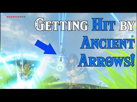 Getting HIT by ANCIENT ARROWS! Going Ancient in Zelda Breath of the Wild