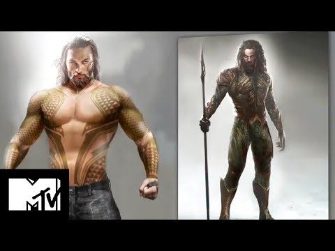 Unveiling Jason Momoa's Aquaman Buff Body – A Justice League Exclusive   MTV Movies