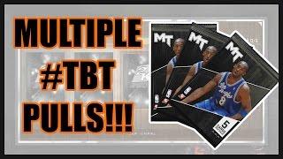 MULTIPLE #TBT PULLS!!! - NBA 2K16 MyTeam Pack Opening | Throwback Thursday Packs NBA 2K16