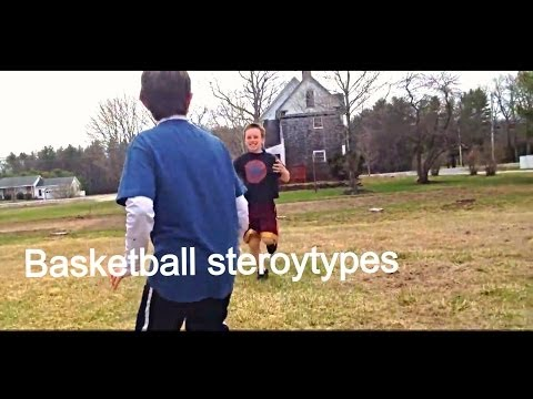 Pickup Basketball: Stereotypes  ( Inspired by Dude Perfect ) (видео)