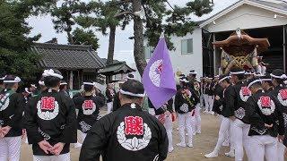 平成30年岸和田だんじり祭り 2回目試験曳き&前夜祭