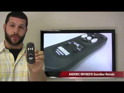 ANDERIC RRVSB210 for Vizio Sound Bar System Remote Control